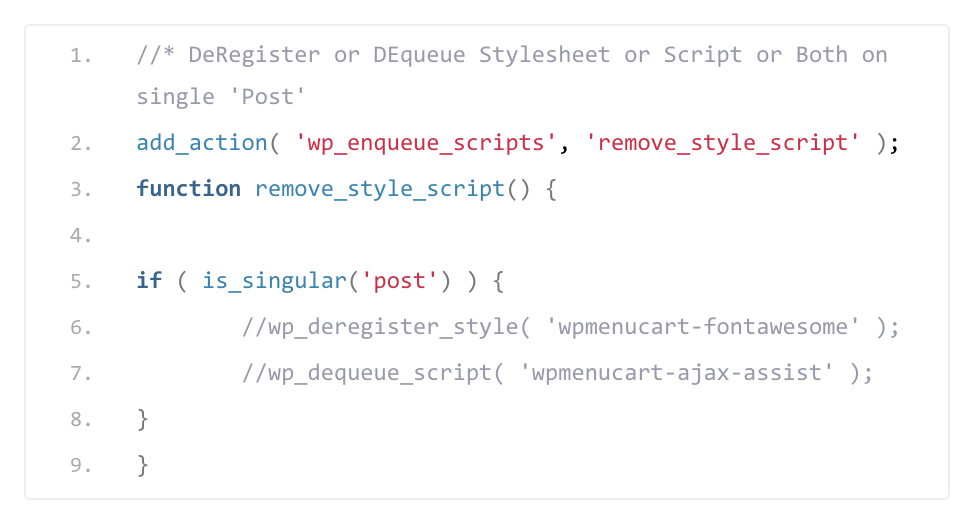 How To Deregister & Dequeue Stylesheets and Scripts