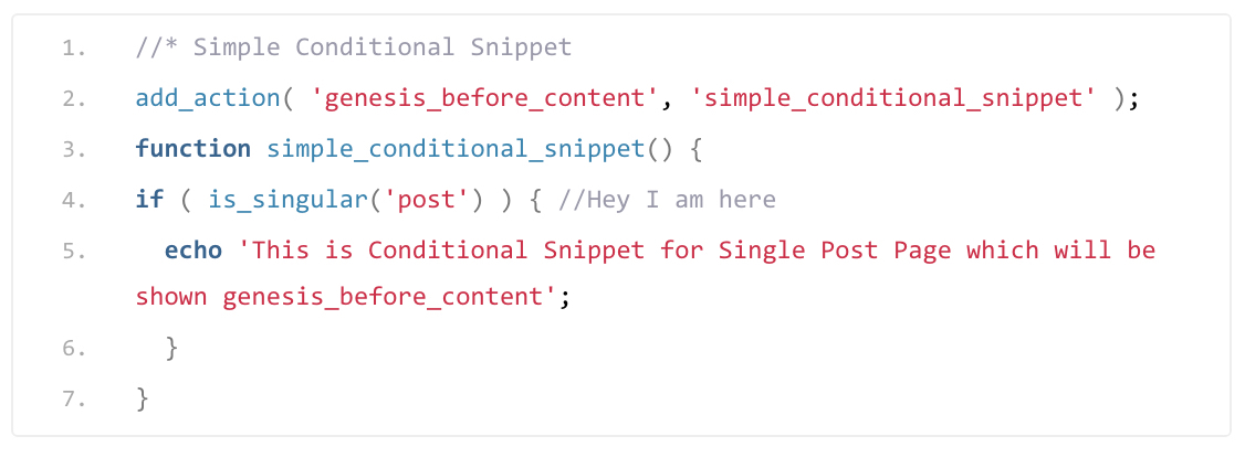 Conditional Tags in WordPress and Genesis Framework