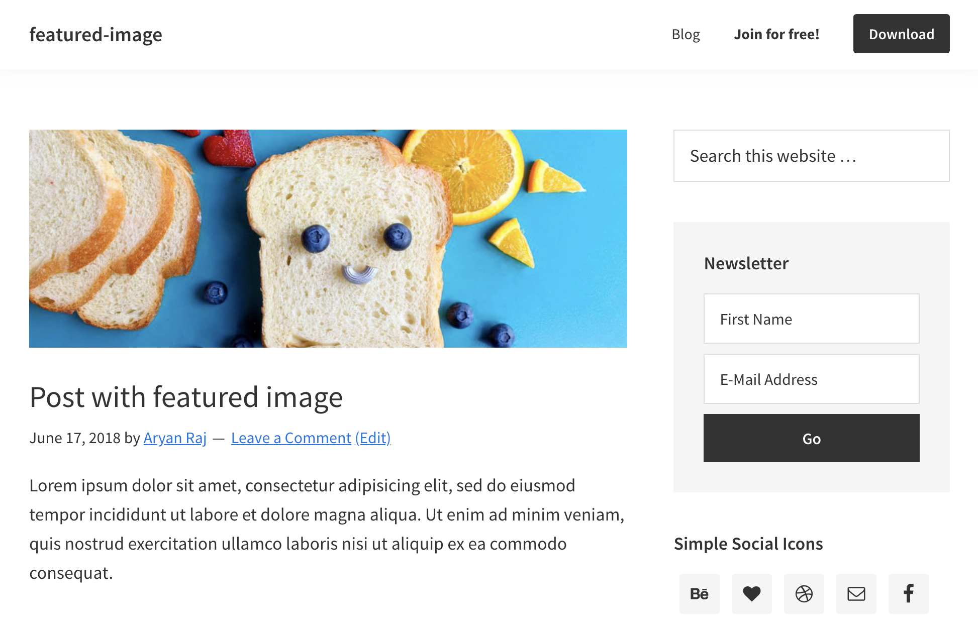 How to display Featured Image on Single Post or Page in Genesis